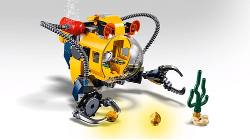 LEGO Creator 31090 Underwater Robot 4