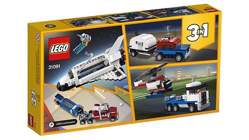 LEGO Creator 31091 Shuttle Transporter 2