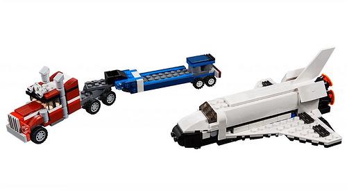 LEGO Creator 31091 Shuttle Transporter 3