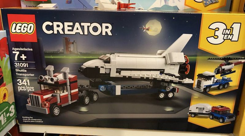LEGO Creator 31091 Shuttle Transporter Featured 800 445 799x445