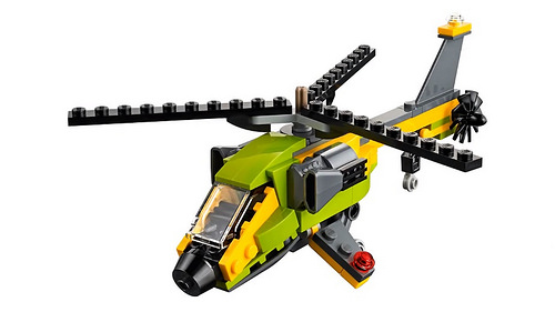 LEGO Creator 31092 Helicopter Adventure 3