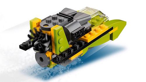 LEGO Creator 31092 Helicopter Adventure 4