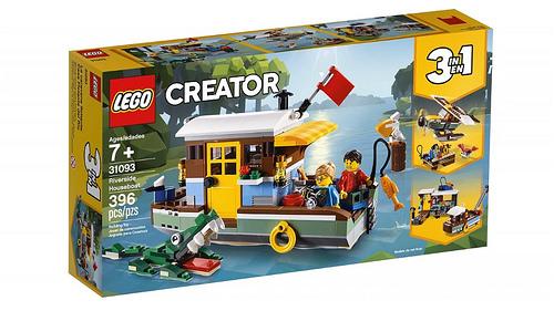 LEGO Creator 31093 Riverside Houseboat 1