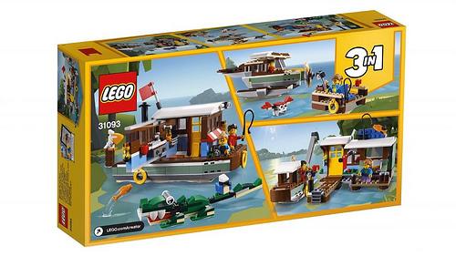 LEGO Creator 31093 Riverside Houseboat 2