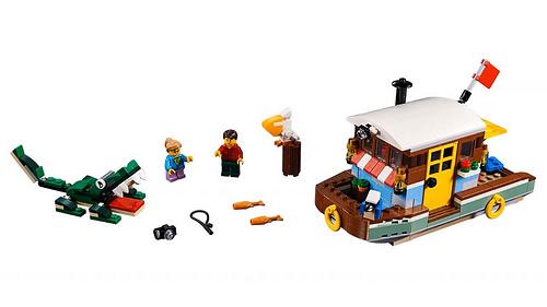 LEGO Creator 31093 Riverside Houseboat 3