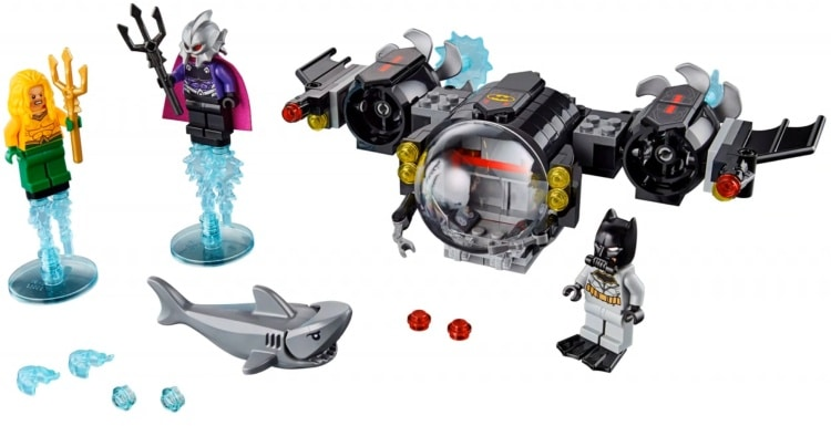 LEGO DC Super Heroes 76116 Batman Batsub Underwater CLash 3