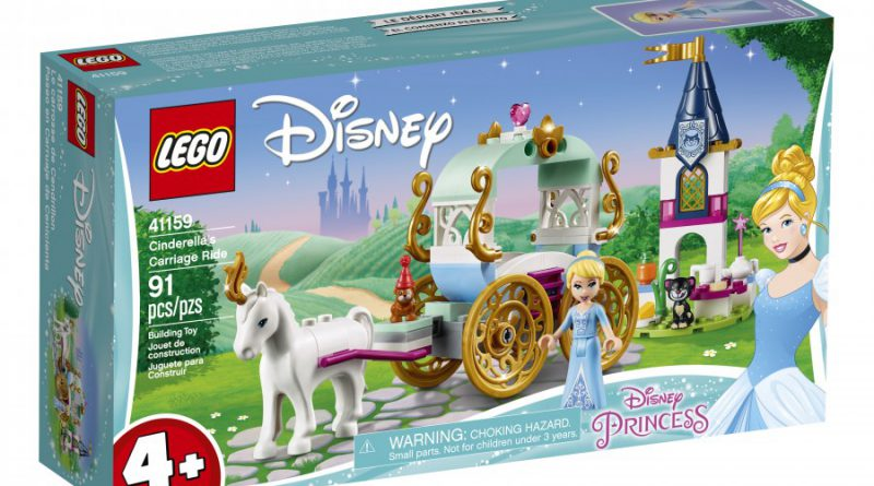 LEGO Disney 41159 Cinderellas Carriage 800x445