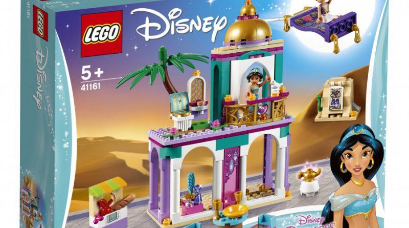 LEGO Disney 41161 Aladdins And Jasmines Palace Adventures 1 800x445