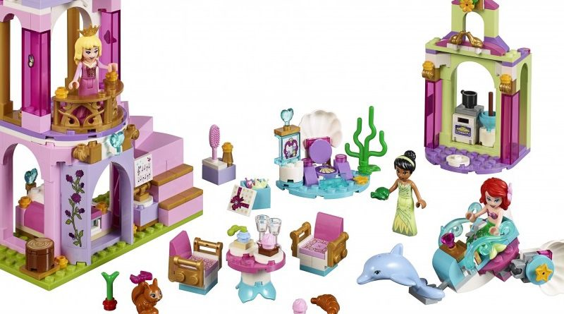 LEGO Disney 41162 Ariel Aurora Tiana Royal Celebration Featured 800 445 800x445