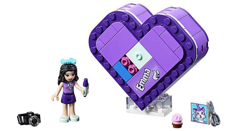 LEGO Friends 41355 Emmas Heart Box 1 800x445