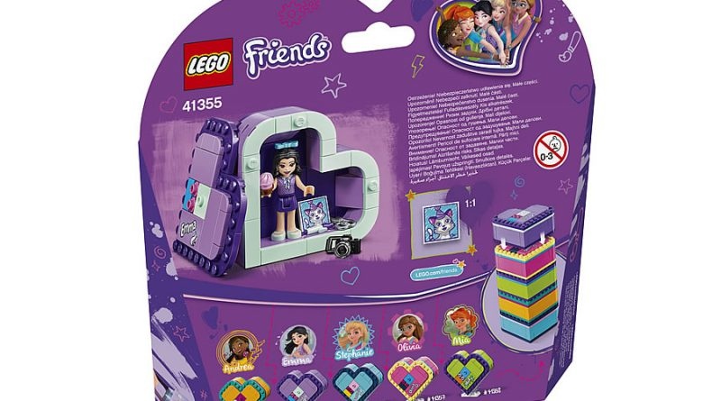 LEGO Friends 41355 Emmas Heart Box 2 800x445