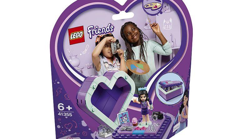 LEGO Friends 41355 Emmas Heart Box 3 800x445