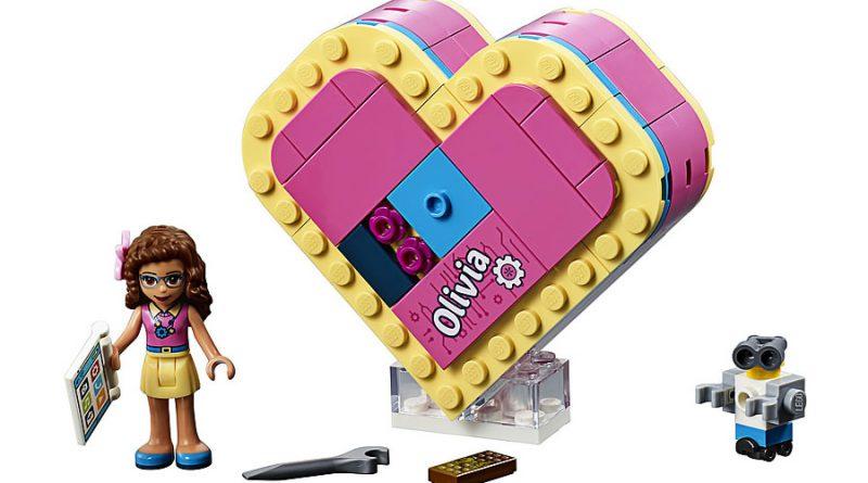 LEGO Friends 41357 Olivias Heart Box 1 800x445