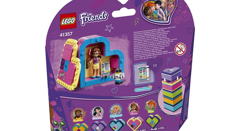 LEGO Friends 41357 Olivias Heart Box 2 800x445