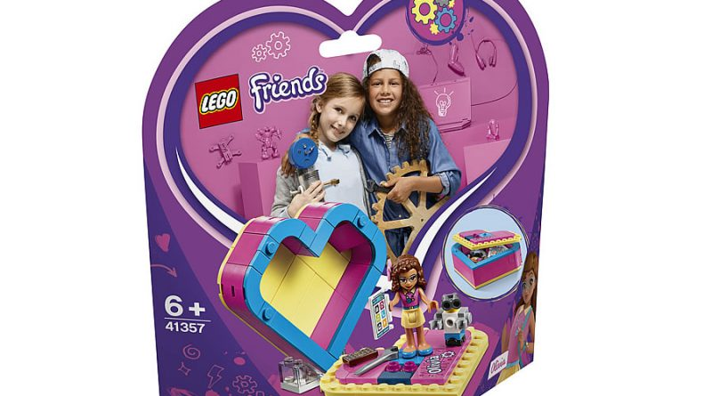 LEGO Friends 41357 Olivias Heart Box 3 800x445
