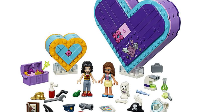 LEGO Friends 41359 Heart Box Friendship Pack 1 800x445