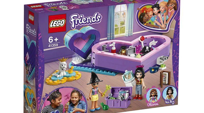 LEGO Friends 41359 Heart Box Friendship Pack 3 800x445