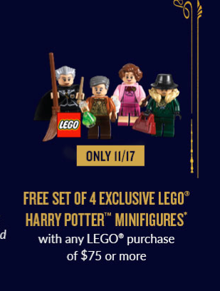 LEGO Harry Potter Bricktober Flyer