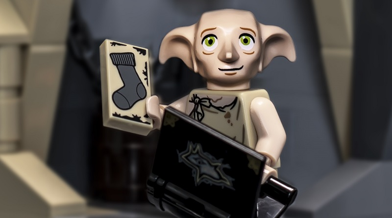 LEGO Harry Potter Vignette Dobby Featured 80 445