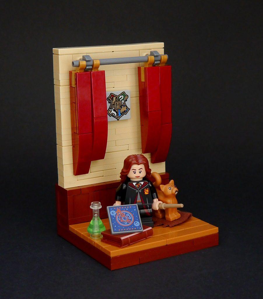 LEGO Harry Potter vignette Hermione