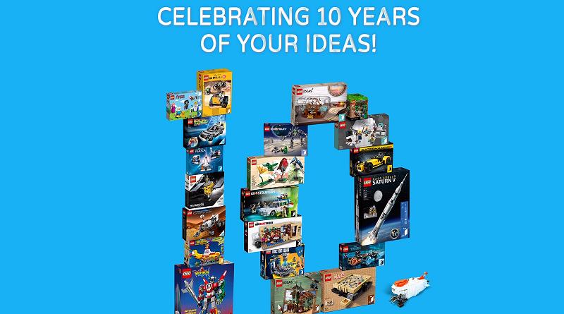 LEGO Ideas Ten Years Featured 800 445