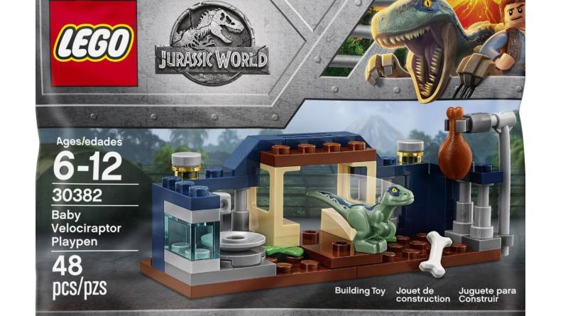 LEGO Jurassic World 30382 Baby Velociraptor Playpen Featured 800 445 800x445