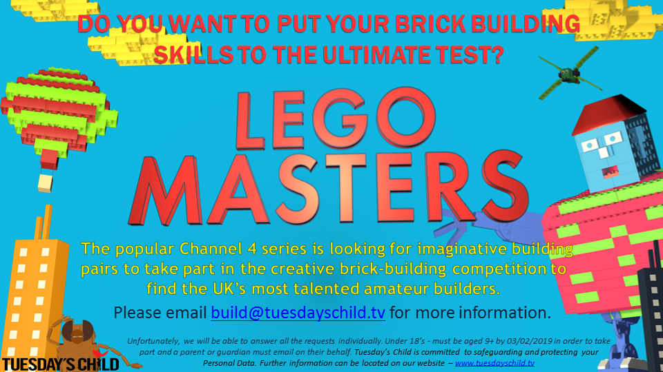 LEGO MASTERS Series 3 Casting