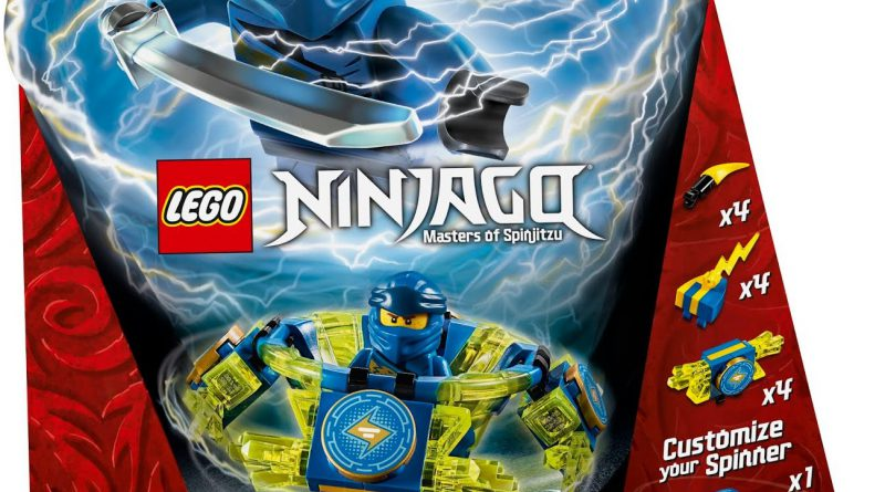 LEGO NINJAGO 70660 Spinjitzu Jay 1 800x445