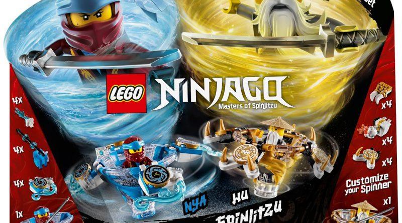 LEGO NINJAGO 70663 Spinjitzu Nya Wu 1 800x445