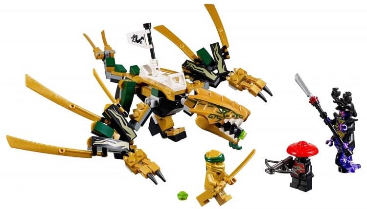 LEGO NINJAGO 70666 The Golden Dragon 1