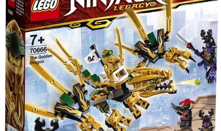 Lego Ninjago Legacy 2019 Sets Available Now