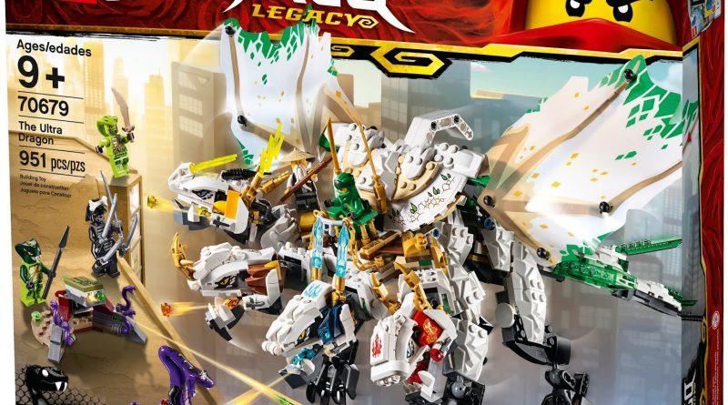LEGO NINJAGO 70679 The Ultra Dragon 800x445