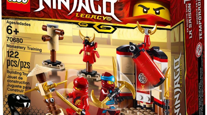 LEGO NINJAGO 70680 Monastery Training 800x445