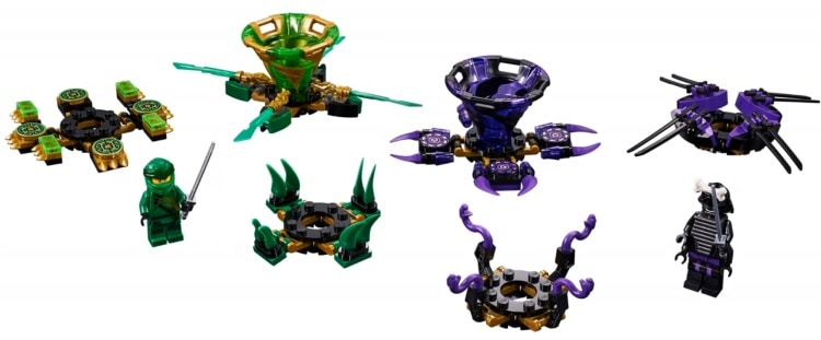 LEGO NINJAGO Legacy 70664 Spinjitzu Lloyd Vs Garmadon 1
