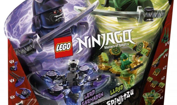 LEGO NINJAGO Legacy 70664 Spinjitzu Lloyd Vs Garmadon 2 750x445