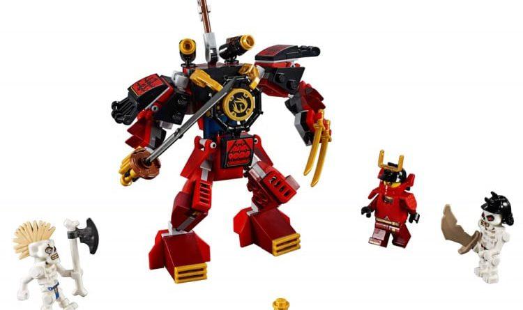 LEGO NINJAGO Legacy 70665 The Samurai Mech 1 750x445