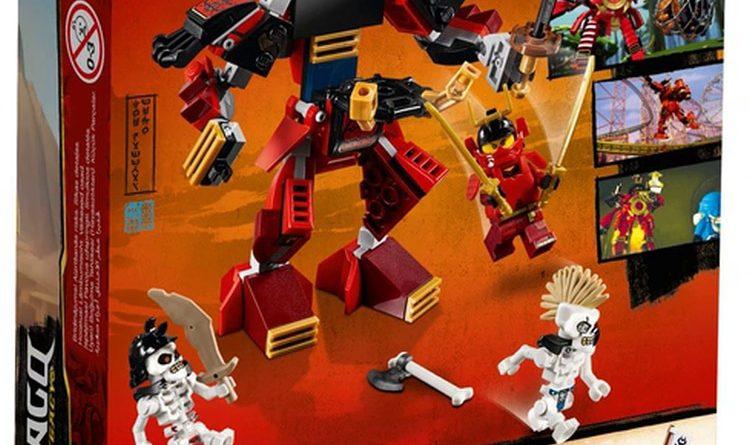 LEGO NINJAGO Legacy 70665 The Samurai Mech 2 750x445