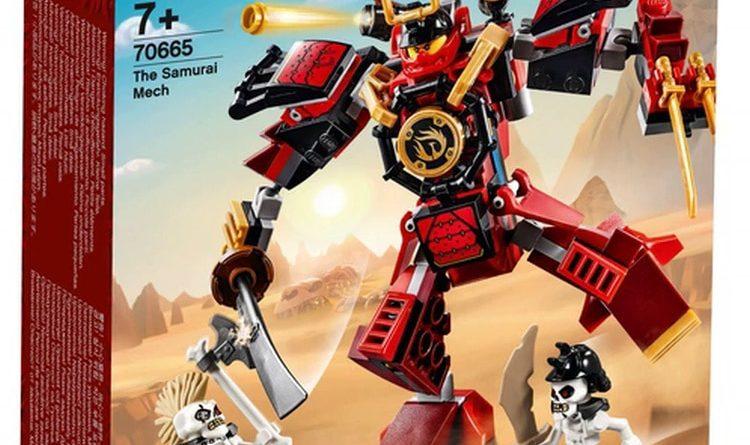 LEGO NINJAGO Legacy 70665 The Samurai Mech 3 750x445