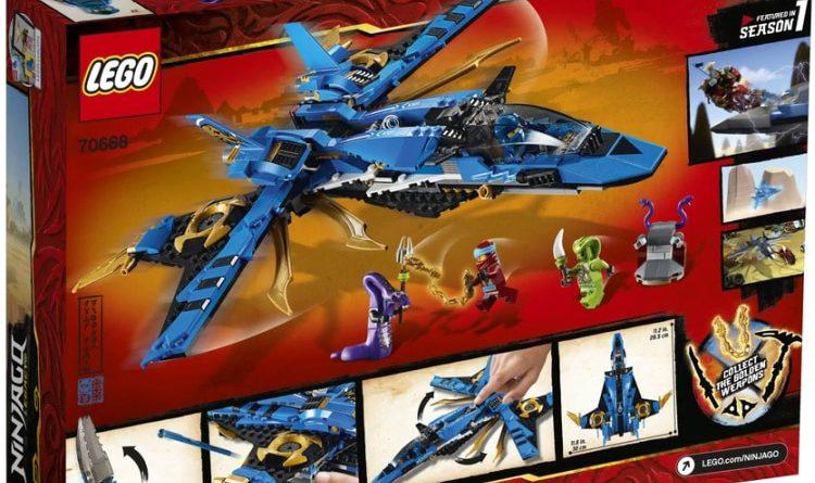LEGO NINJAGO Legacy 70668 Jays Storm Fighter 2 750x445