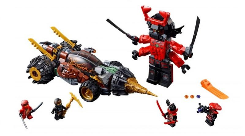 LEGO NINJAGO Legacy 70669 Coles Earth Driller Featured 800 445 800x445