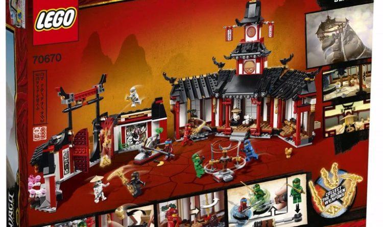 LEGO NINJAGO Legacy 70670 Monastery Of Spinjitzu 2 1 750x445