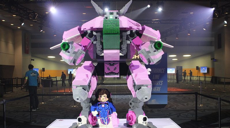 LEGO Overwatch BlizzCon Model Featured 799x445