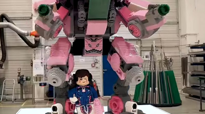 LEGO Overwatch big build featured 800 445