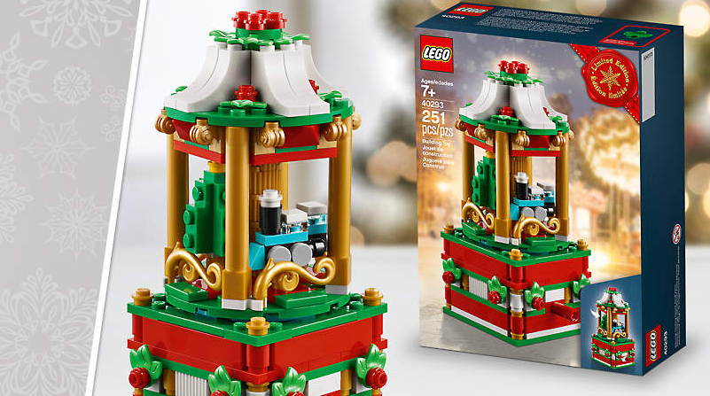 LEGO Shop December Offers Christmas Carousel Featured 800 445