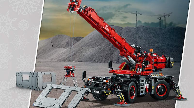 LEGO Shop December Offers Technic Featured 800 445