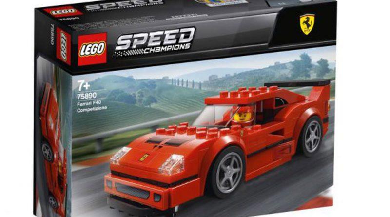 LEGO Speed Champions 75890 Ferrari F40 Competizion 5 800x445