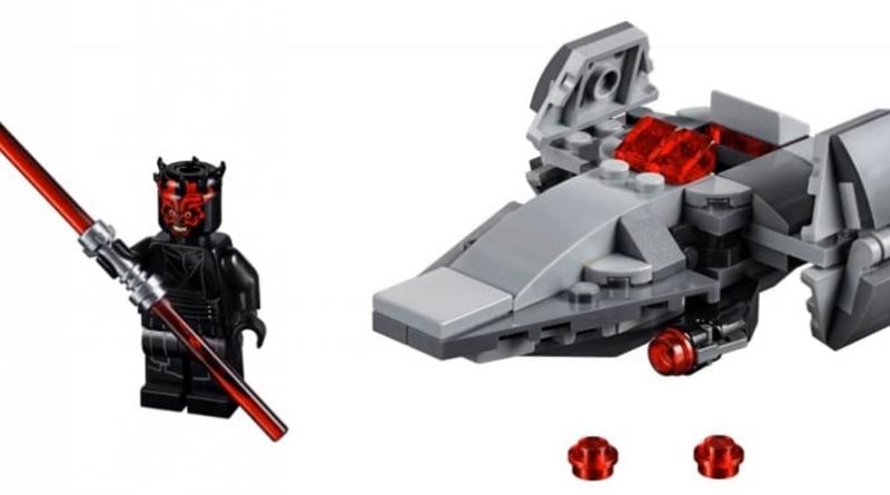 LEGO Star Wars 75224 Sith Infiltrator 800x445