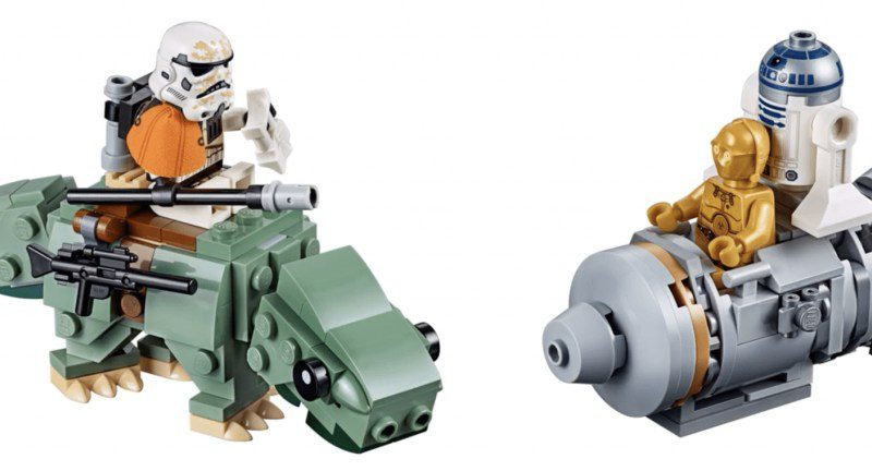 LEGO Star Wars 75228 Escape Pod Dewback 800x432