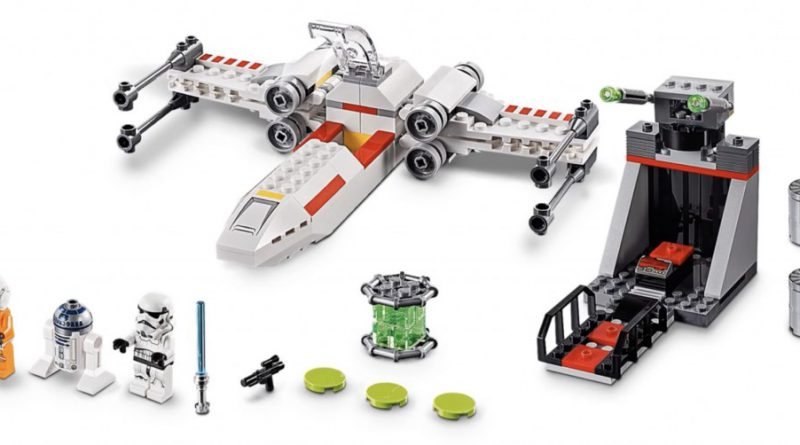 LEGO Star Wars 75235 X Wing Starfighter Trench Run 800x445