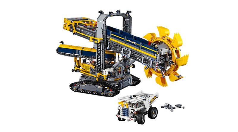 LEGO Technic 42055 Bucket Wheel Excavator Featured 800 445